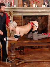Britney Spring gets her ass fucked