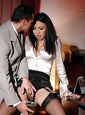 Hot Samy Omidee spanked & exploited