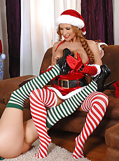 Hypnotizing In Candy Cane Stockings