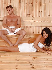A sauna for foot fucking frenzies!