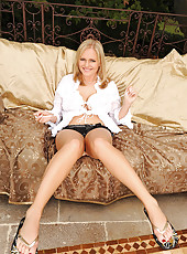Charley G showing her legs & feet