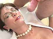 Mature nurse facial