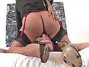 Ebony mature mistress