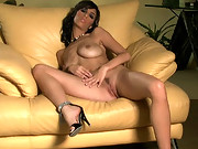 Jaime Hammer and her huge tits have a little fun