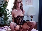 Hairy eighties hooker enjoys getting fucked hard by a cop