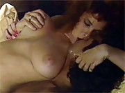 Eighties beauty gets ready to please a big erected cock