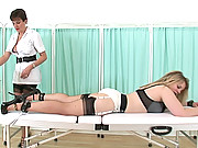 Restrained spanking