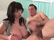 Milf double cumload