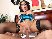 Cheating housewife prefers a new cock besides her husbands small cock