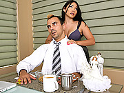 Roxy loves to fuck around with other men besides her husband