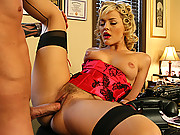 Alexis Texas gets drilled hard with a huge cock