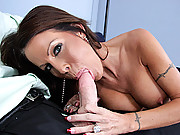 Mature Milf getting her groove on by fucking a hard young cock