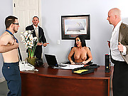 Jayden James fucking her boss on a tuesday