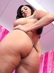 Sexy and big tits Veronica loves jerking a dude hard cock