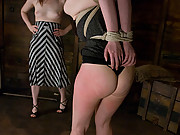 Beautiful girl Nicotine in extreme BDSM session.