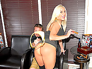 Super hot ass blonde gets her hot ass box rammed in a cigar shop after a few smokes in this hot pole fucking movie