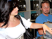 Hot big tits pawn shop babe gets picked up by the clerk in these hot  reality fuck vids