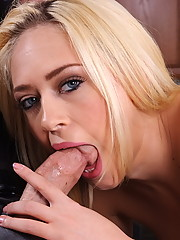 Kagney Linn Karter took a three hour lunch to go shopping and the boss�s son doesn�t like it. In order to keep her job, Kagney has to deliver one convincing board-room blow job!!