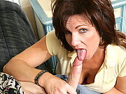 Mrs. Deauxma always thought that Chris was a bad influence on her son. And her suspicions were confirmed when she caught him going through her drawers. Even though Chris is a bad apple, Mrs. Deauxma is willing to give him another chance if he's willing to