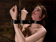 Submissive Kristine in bondage and ass fucked!