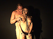 Hot latina Yoha gets bound & spanked wild & cummed in mouth
