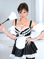 Mature french maid