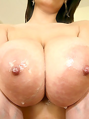 Super sleek big tits babe jane gets her mini skirt pussy fucked and face creamed hard in these hot titty bangin pics