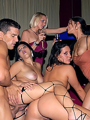 Watch these hot big tits hot ass babes strip and get fucked hard in this hot sex club orgy in these hot pics and big movie
