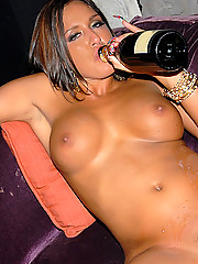 Amazing hot big tits club babe lexy gets her super pussy pounded hard in this hot club orgy