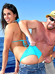 Amazing hot latina bebe gets her hot banging body fucked hard on the boat in these hot fucking pics and big video update