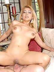 Check out this hot ass big tits milf get a cock in her ass after getting picked up at a comic store