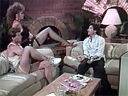 Retro chick enjoys getting her ass pounded