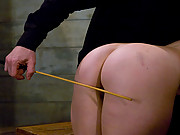Big Beautiful slave ass spanked and fucked