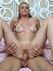 Sunset Diamond Gets Drenched in Cum!