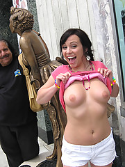 Young slut jumps on Ron Jeremy
