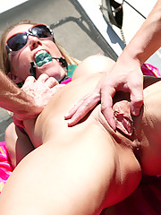 Hot MILF gets disgraced and fucked hard!