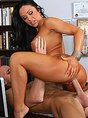 Cherokee loving the big dick in her tight pussy