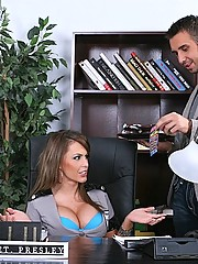 Jenna Presley fucks her rich partners big cock