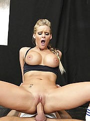Phoenix showing her trainer whos in charge The chick with the big tits