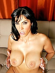 Busty Mom wants the cream of luck all over tits