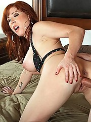 Busty Mom fucking the guy that loves her big tits