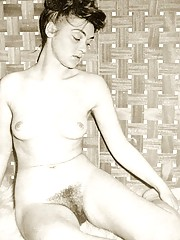 Several hairy housewifes showing their fine natural bodies
