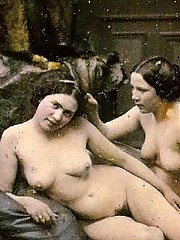 Sexy ladies from the twenties love showing off their bodies