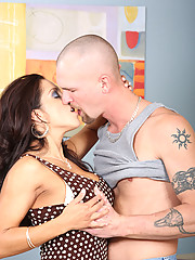 Busty milf Francesca Le offers her tight cougar pussy to an eager cock