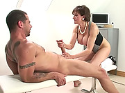 Gym milf sonia fucked from behind