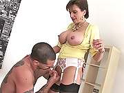 British builder fucks english milf