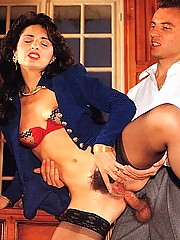 She loves seventies cock in her tight bumhole