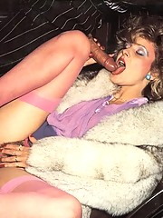 Seventies lady in stockings gets fucked hard
