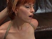 Casting Couch 21: Renee Broadway, HOT Fucking Readhead Loves Orgasms