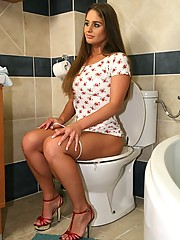 Watch hot ass college babe cathy get down on some cock after a house party in these hot cumfaced pics
